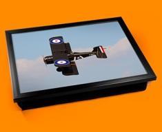 SE5a Royal Aircraft Factory Plane Cushion Lap Tray