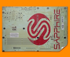 Sapphire Circuitboard Poster