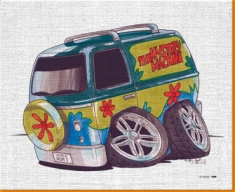 Scooby Doo Canvas Art Print