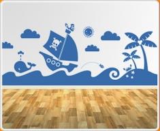 Sea Mural Wall Sticker