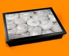Sea Shells Cushion Lap Tray
