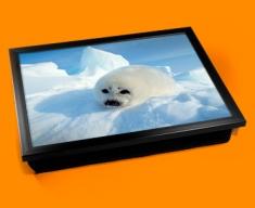 Seal Pup Cushion Lap Tray