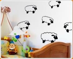 Sheep Set 1 Wall Sticker