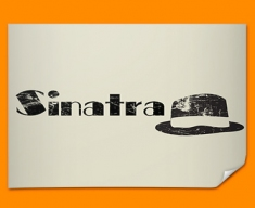 Sinatra Hat Poster