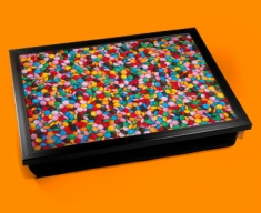 Smarties Cushion Lap Tray