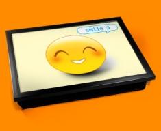 Smile Emoticon Lap Tray