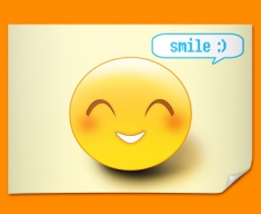 Smile Emoticon Poster