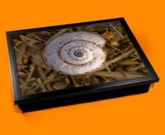 Snail Shell Cushion Lap Tray