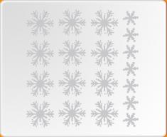 Snowflakes Set Wall Sticker