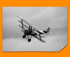 Sopwith Triplane Plane Poster