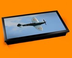 Spitfire Supermarine Plane Cushion Laptop Tray