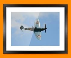 Spitfire Supermarine Plane Framed Print