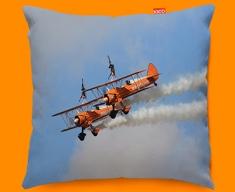 Stearman x2 Boeing Plane Sofa Cushion