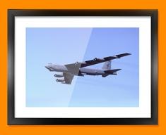 Stratofortress Boeing Plane Framed Print
