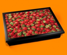 Strawberries Cushion Lap Tray