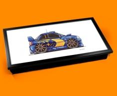 Subaru-Rally Laptop Lap Tray