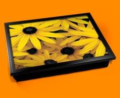 Sunflowers Cushion Lap Tray