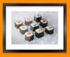 Sushi Framed Print