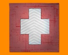 Switzerland Flag Napkins (Set of 4)