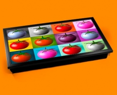 Tomato Collage Laptop Lap Tray