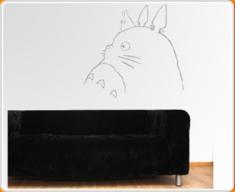 Totoro 2 Wall Sticker