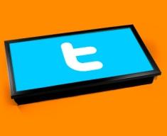Twitter T Laptop Tray