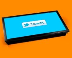 Twitter Tweet Laptop Tray