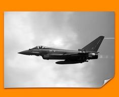 Typhoon BAE Eurofighter Plane Poster