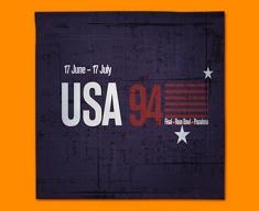 USA 94 Flag Napkins (Set of 4)