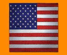 USA Flag Napkins (Set of 4)