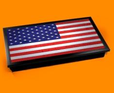 USA Flag Laptop Lap Tray