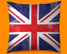 Union Jack Funky Sofa Cushion 45x45cm