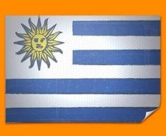 Uraguay Flag Poster