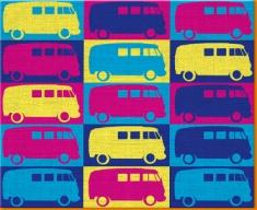 VW 2 Canvas Art Print
