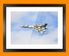 Vulcan Avro Plane Framed Print