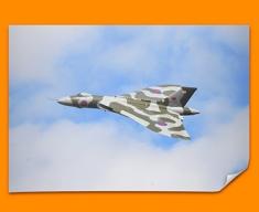 Vulcan Avro Plane Poster