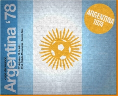 Argentina 74 Canvas Art Print