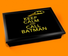 Call Batman Keep Calm Cushion Lap Tray