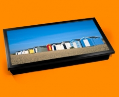 Beach Huts Laptop Lap Tray