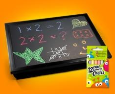 Blackboard Cushion Lap Tray