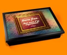 Born Free Heart Warmer Cushion Lap Tray