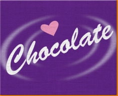 Cadbury Chocolate Canvas Art Print