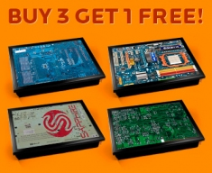 Circuitboards Cushion Lap Tray Set