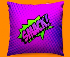 Comic SMACK Funky Sofa Cushion 45x45cm