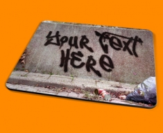 Personalised Custom Graffiti Wall Placemat