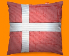 Denmark Flag Cushion 45x45cm