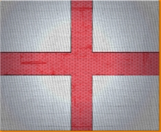England Canvas Art Print