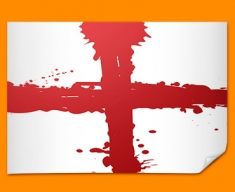 St George's Flag Poster