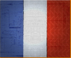 France Canvas Art Print