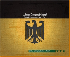 Germany 74 Canvas Art Print